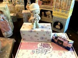 Vintage 1978-2003 Enesco Precious Moments Figures Figurines Huge Lot of 50 NIB