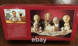 Vintage 1986 Enesco Precious Moments The Nativity Set Sam Butcher Mint