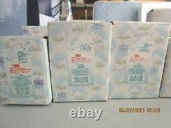 Vintage Enesco Precious Moments Sugar Town pieces x 38 withboxes some NIB