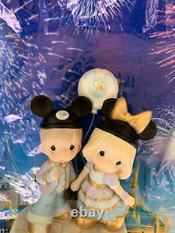 Walt Disney World 50th Anniversary Precious Moments Anniversary Couple Figurine