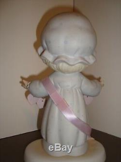 YOU HAVE TOUCHED SO MANY HEARTS 9 Precious Moments Figurine Easter Seal 1989