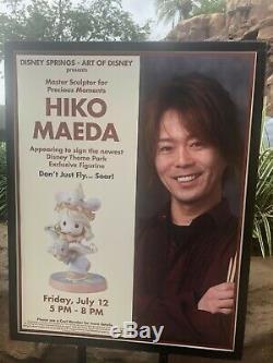 You're My Dream Come True PRECIOUS MOMENTS DISNEY SIGNED By Sculptor HIKO MAEDA