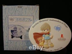 Za Precious Moments-Collectors Medallion-St Jude Children's Hospital-Hand Signed