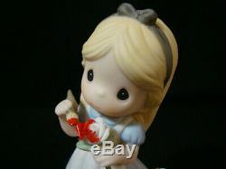 Zb Precious Moments-Disney-Alice In Wonderland-U Make My World A Wonderland
