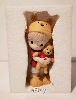 Zb Precious Moments-Disney-Boy Holding Pooh-Hunny Nobody Sweeter Than You 169018