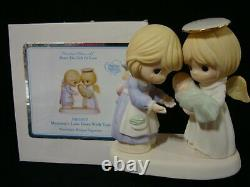 Zd Precious Moments-Mommy's Love Goes With You-CHAPEL EXCLUSIVE-Bereavement-RARE