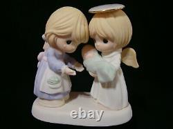 Zd Precious Moments-Mommy's Love Goes With You-RARE CHAPEL EXCLUSIVE-Bereavement